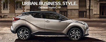 Urban. Business. Style. - Der neue C-HR